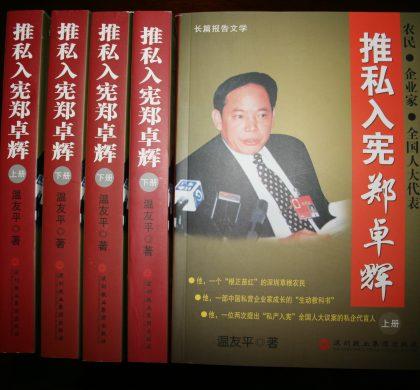 推私入宪郑卓辉:一个中国私营企业家的实践(3)