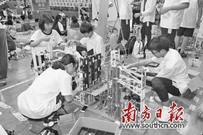 首届机器人嘉年华本周末松山湖上演   180支青少年队伍比拼创意和技能