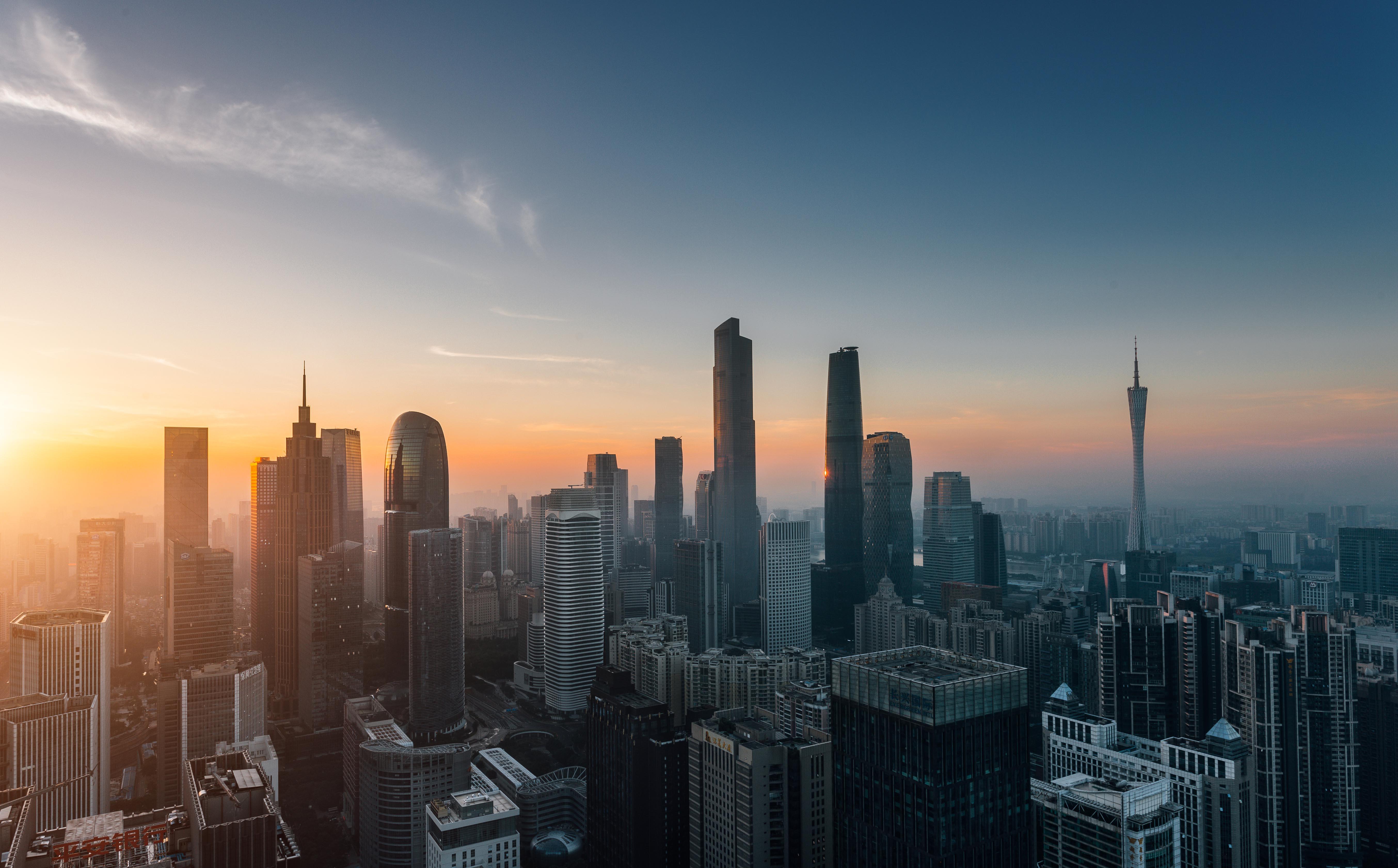 深圳海报城市背景