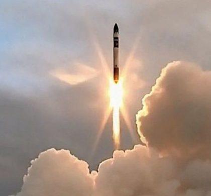 """美私企""""火箭实验室""""首次成功发射卫星"""