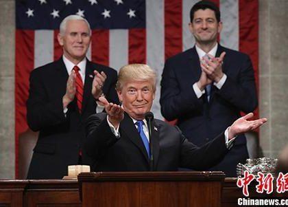 """宣示""""新美国时刻"""" 特朗普带来""""新裂痕"""""""