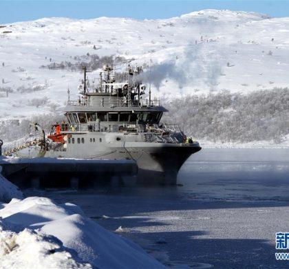 """通讯:挪威北极小镇的""""冰上丝路梦"""""""