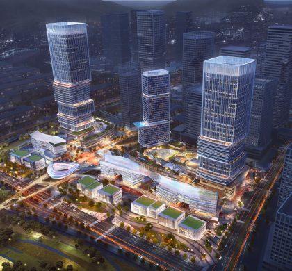 深圳前海开工7大项目,3个为总部基地