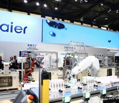 """特写:""""欢迎海尔到德国助企业转型""""——在汉诺威工博会看""""中国方案""""的全球竞争力"""