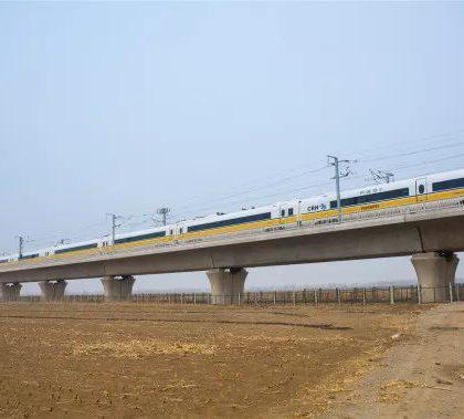 """中国开展首次""""智能高铁""""综合试验"""