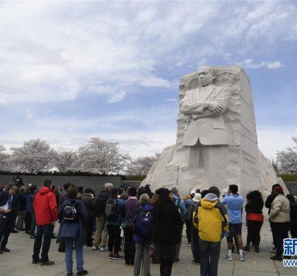 综述:美国纪念民权领袖马丁·路德·金逝世50周年
