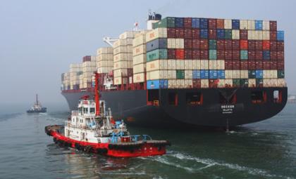 中国前4个月货物贸易进出口同比增长8.9%