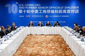 第十轮中美工商领袖和前高官对话在京举行