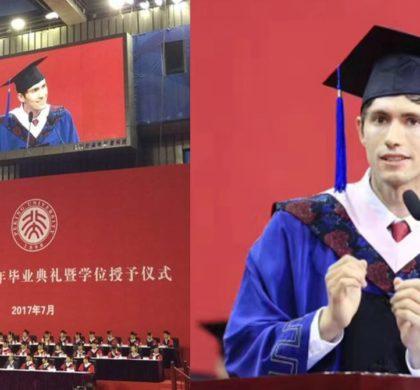 """越来越多外国学生来华留学 成就""""融通中国与世界之才"""""""