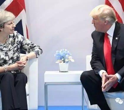特朗普说期待与英国签订双边贸易协定