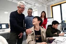 """苹果CEO:中国""""双创""""潜力巨大"""