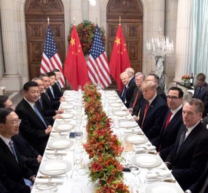 习近平同特朗普开始举行中美元首会晤